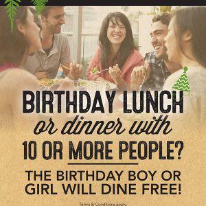 Birthday Free